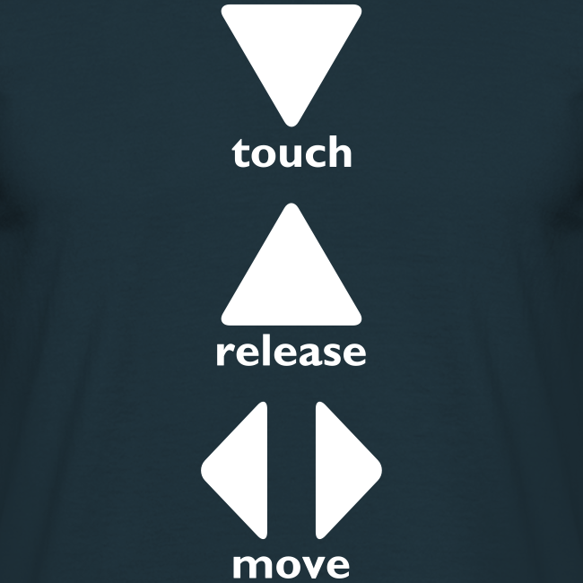 Touch Release Move