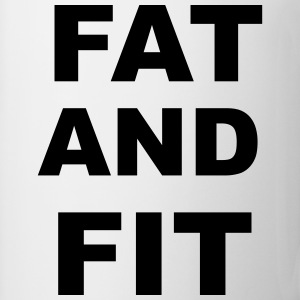 Fat and FIt Mugs & Drinkware - Mug
