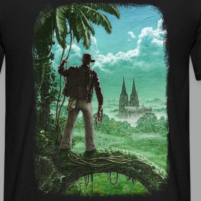 Abenteuer in Köln, beidseitig, Grunge