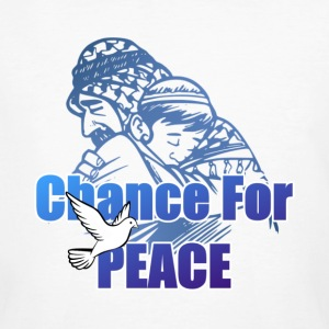 Chance For Peace - Männer Bio-T-Shirt