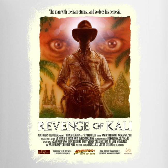 Adventurer's Club Cologne Logo / Revenge of Kali Poster, Grunge
