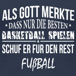 Basketball spielen T-Shirts - Frauen Premium T-Shirt