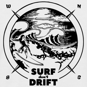 surf don't drift - Männer Baseball-T-Shirt