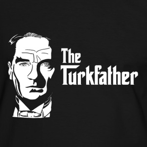 The Turkfather - Männer Kontrast-T-Shirt