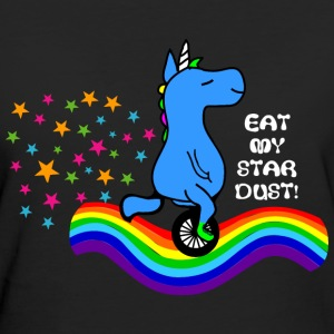 Eat MY STARDUST! UNICORN QUOTES GIFT T-Shirts - Women's Organic T-shirt