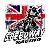 UK Speedway - Vintage Union Jack T-Shirts - Women's Premium T-Shirt