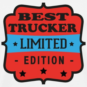 Best trucker limited edition Tee shirts - T-shirt Premium Homme