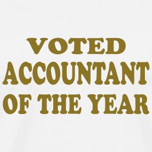 Voted accountant of the year Tee shirts - T-shirt Premium Homme