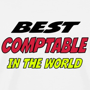 Best comptable in the world Tee shirts - T-shirt Premium Homme