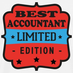 Best accountant limited edition T-Shirts - Männer Premium T-Shirt