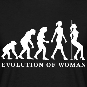 evolution_of_woman_striptease_052016_a_1 T-Shirts - Männer T-Shirt