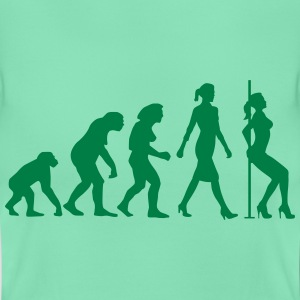 evolution_of_woman_striptease_052016_b_1 T-Shirts - Frauen T-Shirt
