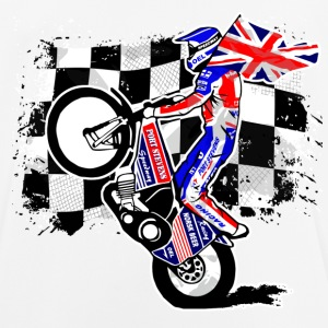 Speedway - Union Jack - UK Flag T-Shirts - Männer T-Shirt atmungsaktiv