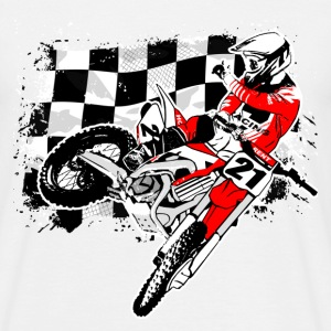 Moto Cross - MX - Supercross Tee shirts - T-shirt Homme