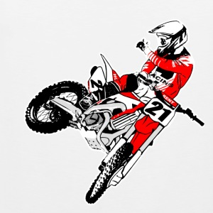 Moto Cross - MX - Supercross Vêtements de sport - Débardeur Premium Homme