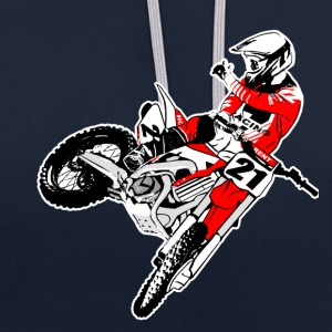 Moto Cross - MX - Supercross Sweat-shirts - Sweat-shirt contraste