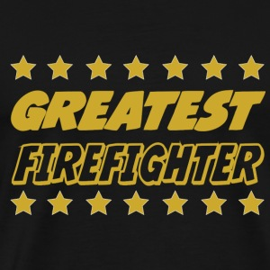 Greatest firefighter T-Shirts - Männer Premium T-Shirt