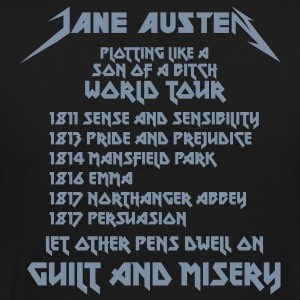 Jane Austen World Tour - Männer Premium T-Shirt