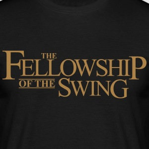 Fellowship of the Swing - Männer T-Shirt