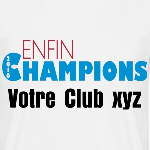 Enfin champions 2016 Tee shirts - T-shirt Homme