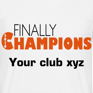 Finally champions 2016 T-Shirts - Men's T-Shirt