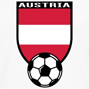 Austria football fan shirt 2016 Long sleeve shirts - Men's Premium Longsleeve Shirt