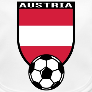 Austria football fan shirt 2016 Baby Bibs - Baby Organic Bib