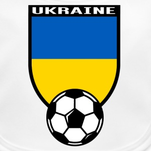 Ukraine football fan shirt 2016 Baby Bibs - Baby Organic Bib