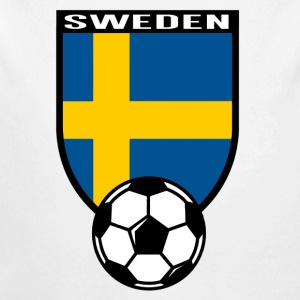 Sweden football fan shirt 2016 Baby Bodysuits - Longlseeve Baby Bodysuit
