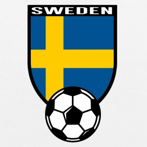 Sweden football fan shirt 2016 Bags & Backpacks - EarthPositive Tote Bag
