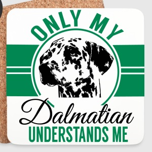 Only my Dalmatian understands me Mugs & Drinkware - Coasters (set of 4)