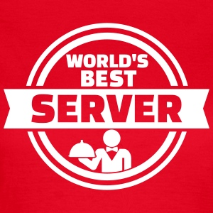 World's best server T-Shirts - Frauen T-Shirt