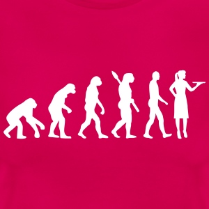 Evolution Kellnerin T-Shirts - Frauen T-Shirt