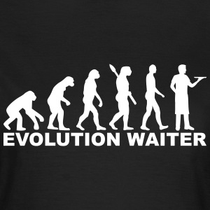 Evolution Waiter T-Shirts - Frauen T-Shirt