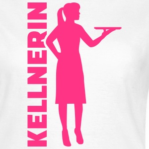Kellnerin T-Shirts - Frauen T-Shirt