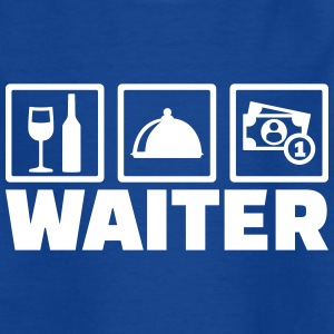 Waiter T-Shirts - Kinder T-Shirt