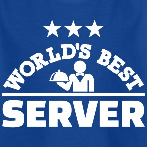 World's best server T-Shirts - Kinder T-Shirt