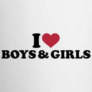 I love boys and girls Tassen & Zubehör - Tasse