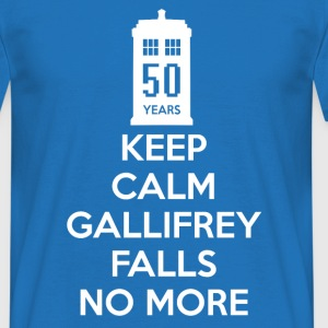 Gallifrey Falls No More Doctor Who - Men's T-Shirt