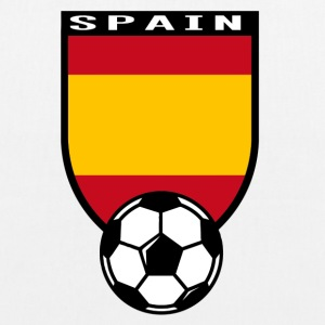 Spain football fan shirt 2016 Bags & Backpacks - EarthPositive Tote Bag