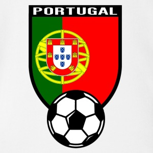 Portugal Fussball Fan Shirt 2016 Baby Bodys - Baby Bio-Kurzarm-Body