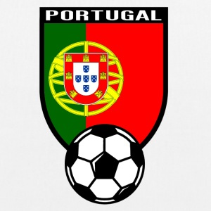 Portugal football fan shirt 2016 Bags & Backpacks - EarthPositive Tote Bag
