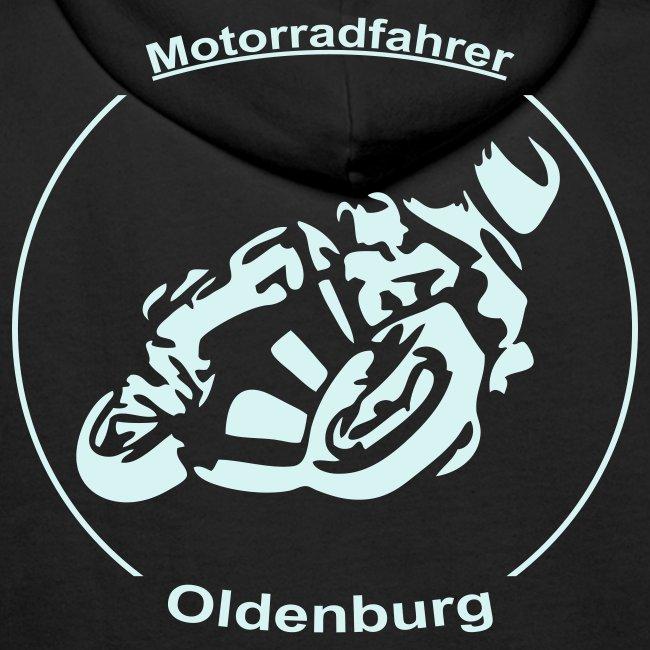 Männer Kapuzenpullover Logo in Grau