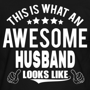 THIS IS WHAT AN AWESOME HUSBAND LOOKS LIKE T-Shirts - Men's Ringer Shirt