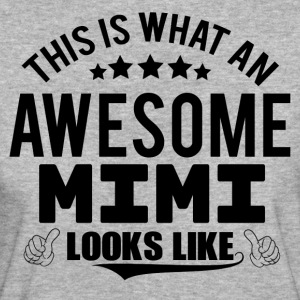 THIS IS WHAT AN AWESOME MIMI LOOKS LIKE T-Shirts - Women's Organic T-shirt