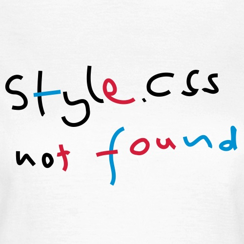 CSS Style Not Found