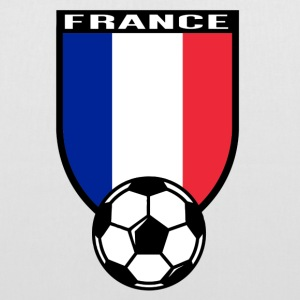 Maillot de fan de foot France 2016 Sacs et sacs à dos - Tote Bag