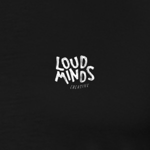 Loud Minds Creative - Black edition - Men's Premium T-Shirt