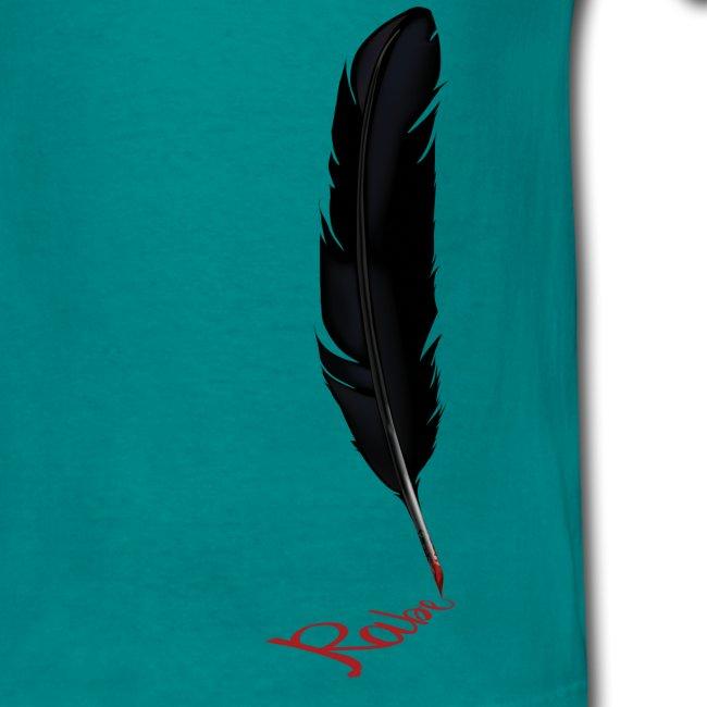 Raven Feather Men´s T-Shirt