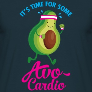 It's Time For Some Avo Cardio T-Shirts - Männer T-Shirt